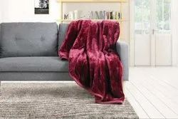 Plain Embossed Mink Blanket, Packaging Type: Plastic Bag, Size: 60x90 Inch
