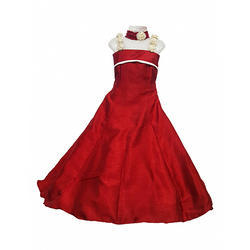 Red Girls Evening Gowns