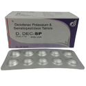Diclofenac Potassium and Serratiopeptidase Tablets
