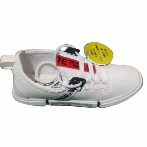 Camro Mens White Sneaker Shoes, Rs 219