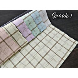 Casual Cotton Check Shirting Fabric