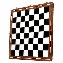 Wooden Black & White Chess Board