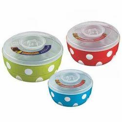 Multicolor Plastic Bowl