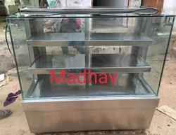 Round Glass Fast Food Counter