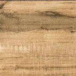 Digital Glazed Vitrified Brown Pine Wood Tiles