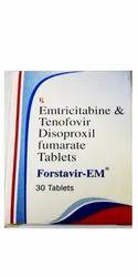 Forstavir EM Emtricitabine & Tenofovir Tablets