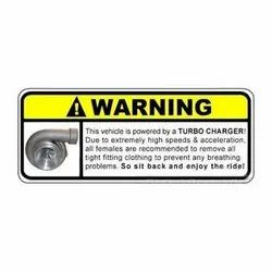 PVC Warning Labels