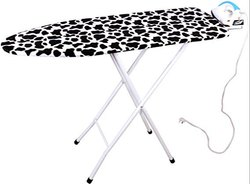 Magna Homewares Marino Extra Large Ironing Board with Ironing Rest and Fire Retardant Padding