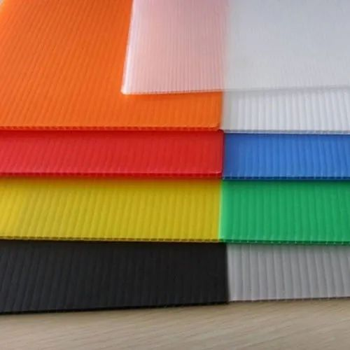 Available In  H Type and S Type PP - Polypropylene PP Hollow Sheet, Size: 1000 To 2000 Mm