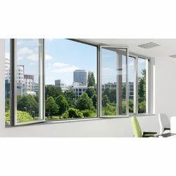 Smartcon Glossy Aluminium Casement Windows