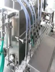 Volumetric Four Head Liquid (Juice) Filling Machine