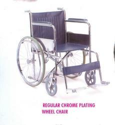 Regular Chromes Plated Wheel Chair
