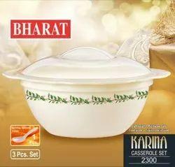 BHARAT Plastic Karina 2300 Printed Casserole