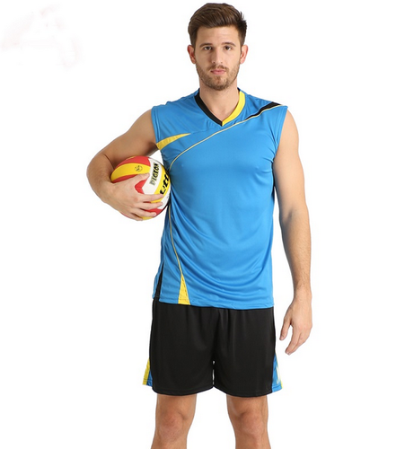 Multi Color Mens Volley Ball Jersey