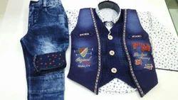 Boys 3 Colour Ethnic Jacket Suit
