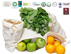 Natural Recycle Organic Cotton Produce Bag