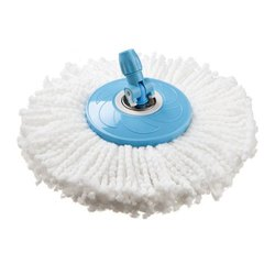 White Round Cotton Mop