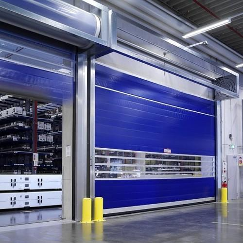Stainless Steel High Speed Turbo Doors