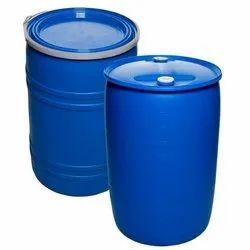 Blue Classical Wide Mouth Plastic Drum, Capacity: >300 litres, For Storage Purposes