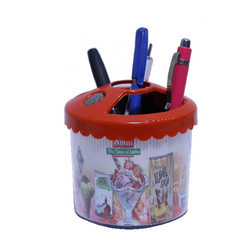 Amul Counting Pen Holder (Round)