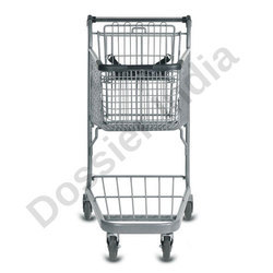 Stainless Steel 50 Litres Shopping Trolleys