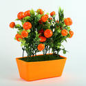 Orange Artificial Fruit Plant