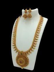D8040 Brass Jewellery Set