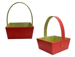 Leatherette Gift & Fruit Basket