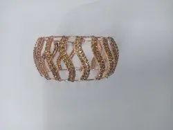 Round Party Wear Ladies Designer bracelet