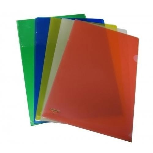 RR File Plastic L Folder, Paper Size: A4, Packaging Type: Packet