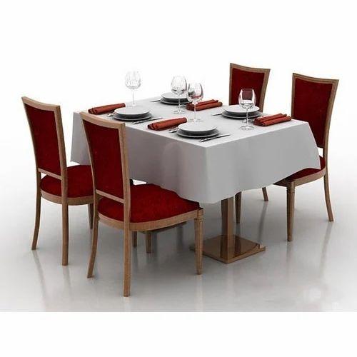 Restaurant Table Chair Set For