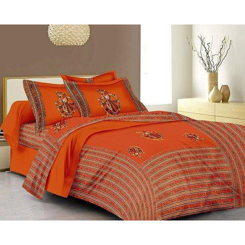 Jaipuri Printed Double Bedsheet Set