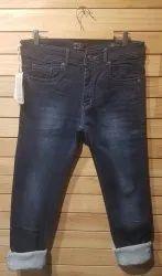 Plain Slim Fit Jeans, Waist Size: 38