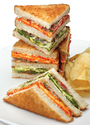 Paneer Tikka Double Decker Sandwich