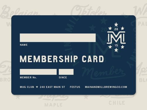 Membership Card