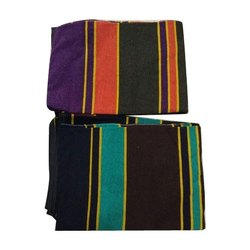 Vijay Luxmi Textile Striped Woolen Durries, Size: 6x9 feet, Packaging Type: Packet
