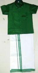 Kids Ethnic Cotton Shirt and Dhoti Set, 1 To 16 Year