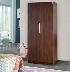Wooden Bold Bella Amaze Plus 2 Door Wardrobe for Bedroom
