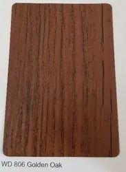 WD 806 Golden Oak ACP Sheets
