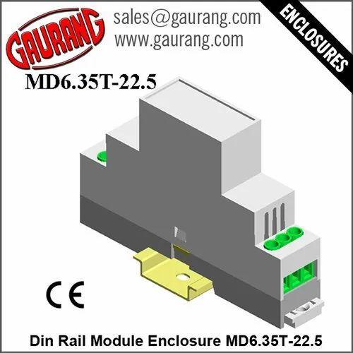 Modular Din Rail Enclosures MD6.35T-22.5