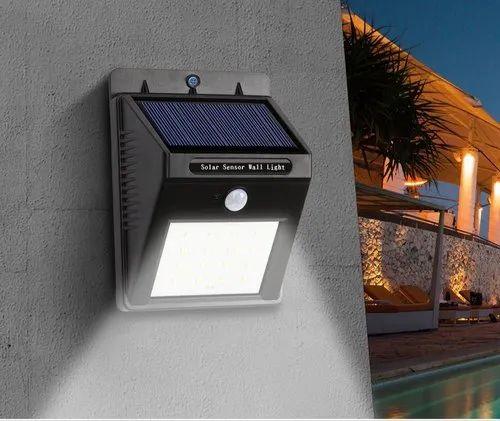 20 Led Outdoor Solar Motion Sensor Wall Light