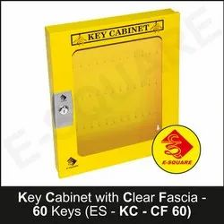 Key Cabinet With Clear Fascia - 60 Keys