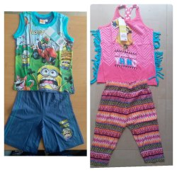 Disney Boys Girls Shorts Set