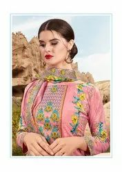 College Wear Cotton Dress Material