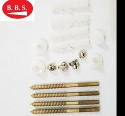Wc Seat Screw 6 Mm 6 Piece Pair