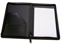 Black Leather Folders