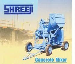 Used Mild Steel Concrete Mixer, Model No.: 10/7