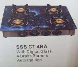 4 Burner Cooktop for Kitchen