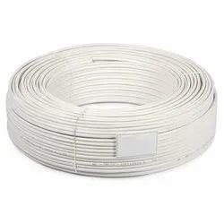 White 240 Meter CCTV Copper Cable