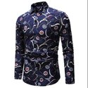 Natural Recycle Organic Cotton Mens Printed Shirts